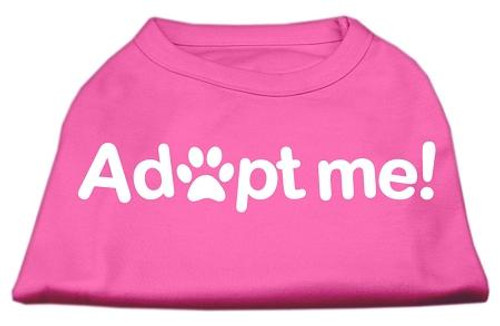 Adopt Me Screen Print Shirt Bright Pink Lg (14)