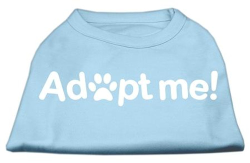 Adopt Me Screen Print Shirt Baby Blue Lg (14)