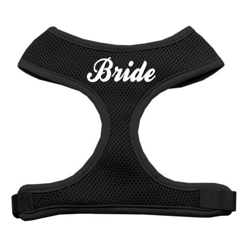 Bride Screen Print Soft Mesh Harness Black Medium