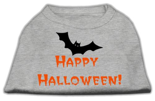 Happy Halloween Screen Print Shirts Grey Xxxl (20) - 51-13-04 XXXLGY