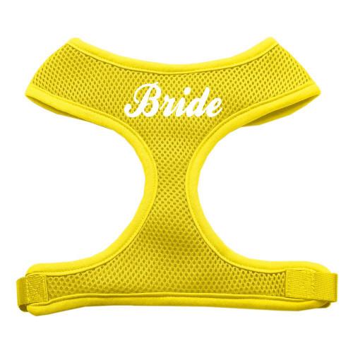 Bride Screen Print Soft Mesh Harness Yellow Medium