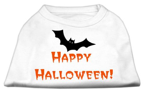 Happy Halloween Screen Print Shirts White Xxxl (20) - 51-13-04 XXXLWT