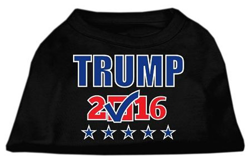 Trump Checkbox Election Screenprint Shirts Black Sm (10)