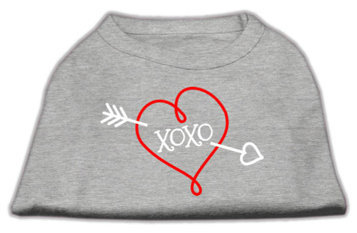 Xoxo Screen Print Shirt Grey Xxl (18)