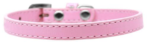 Omaha Plain Puppy Collar Light Pink Size 12