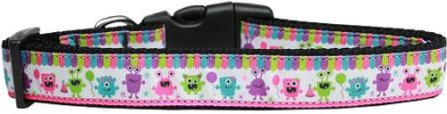 Party Monsters Nylon Dog Collar Large