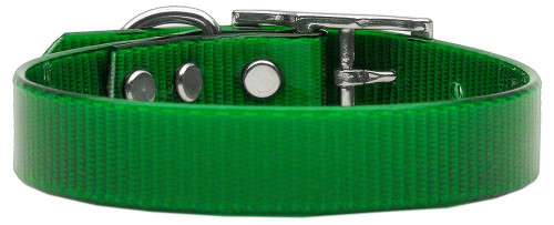 Plain Tropical Jelly Collars Emerald Green Med - 45-10 MDEG