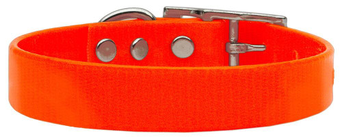 Plain Tropical Jelly Collars Orange Med - 45-10 MDOR