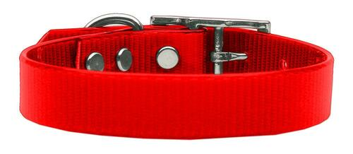 Plain Tropical Jelly Collars Red Med - 45-10 MDRD