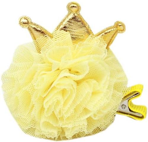 Princess Puff Clip-on Yellow