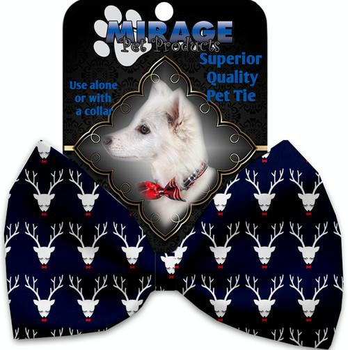 Team Prancer Pet Bow Tie