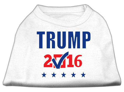 Trump Checkbox Election Screenprint Shirts White Sm (10)