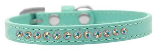 Ab Crystal Size 14 Aqua Puppy Collar