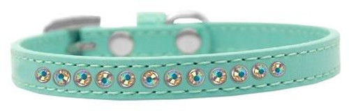 Ab Crystal Size 12 Aqua Puppy Collar