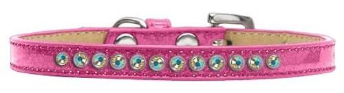 Ab Crystal Size 16 Pink Puppy Ice Cream Collar