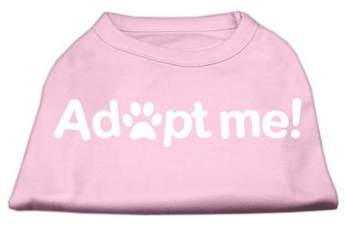Adopt Me Screen Print Shirt Light Pink Xxxl (20)