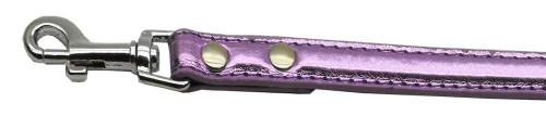 "3/4"" (18mm) Metallic Two-tier Collar  Purple 1/2"" Leash - 18-02 12PRM"