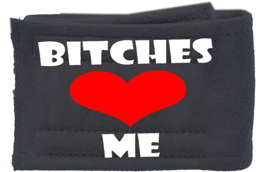 Peter Pads Ultra Plush Grey Size Md Bitches Love Me Single