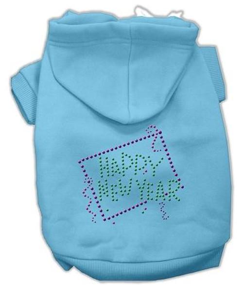 Happy New Year Rhinestone Hoodies Baby Blue Xxxl (20)
