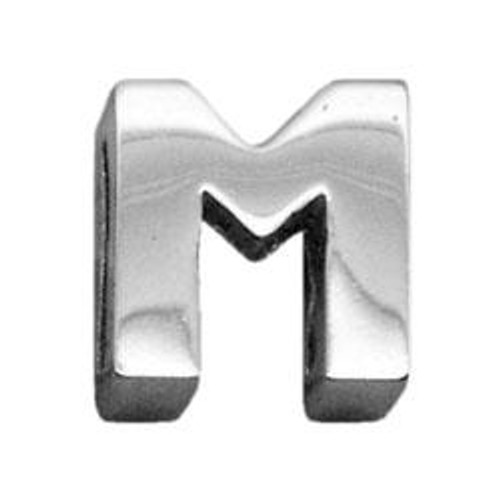 """3/8"""" (10mm) Chrome Plated Charms M 3/8"""" (10mm) - 10-11 38M"""