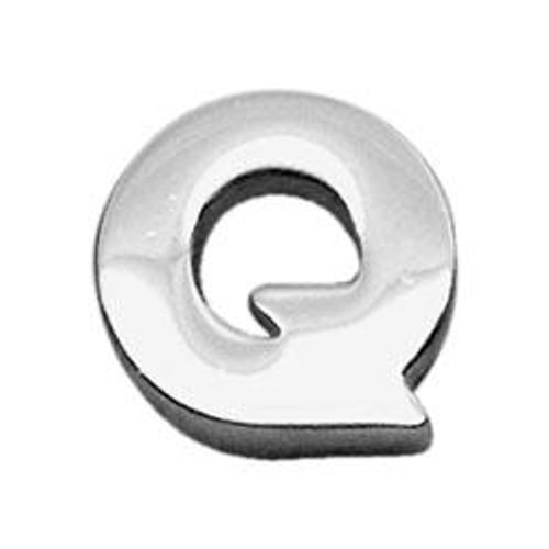 "3/8"" (10mm) Chrome Plated Charms Q 3/8"" (10mm) - 10-11 38Q"