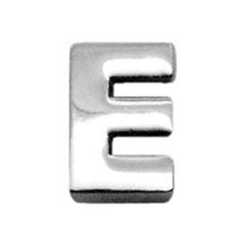 "3/8"" (10mm) Chrome Plated Charms E 3/8"" (10mm) - 10-11 38E"