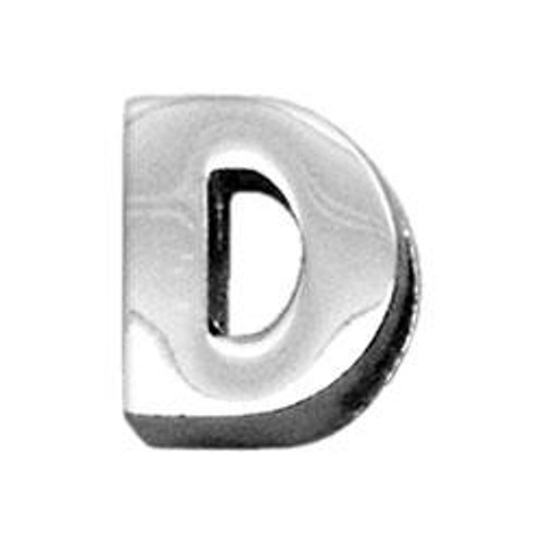 """3/8"""" (10mm) Chrome Plated Charms D 3/8"""" (10mm) - 10-11 38D"""