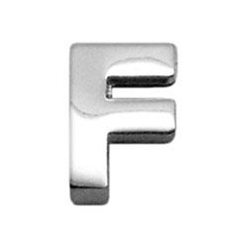 """3/8"""" (10mm) Chrome Plated Charms F 3/8"""" (10mm) - 10-11 38F"""