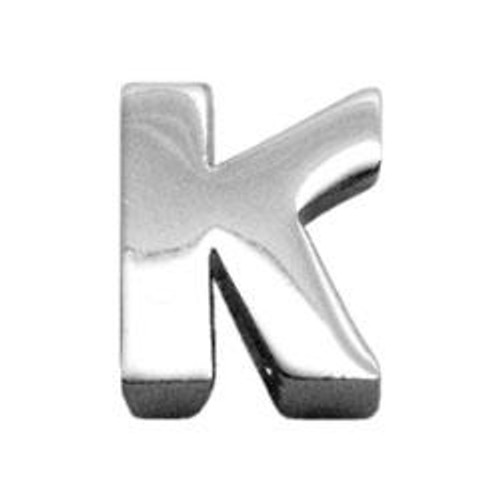"""3/8"""" (10mm) Chrome Plated Charms K 3/8"""" (10mm) - 10-11 38K"""