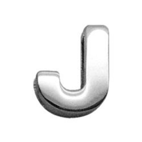 "3/8"" (10mm) Chrome Plated Charms J 3/8"" (10mm) - 10-11 38J"