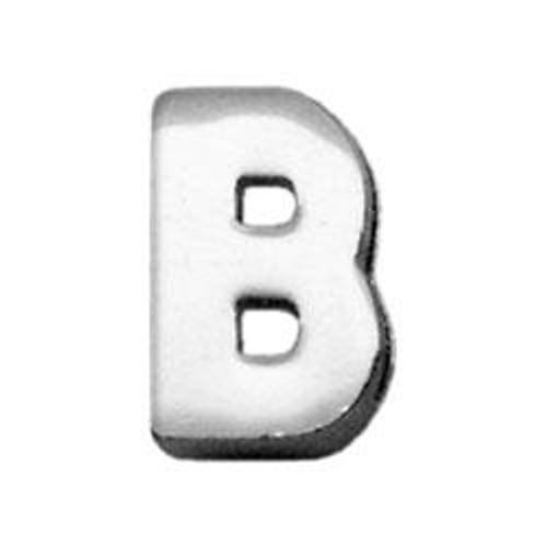 "3/8"" (10mm) Chrome Plated Charms B 3/8"" (10mm) - 10-11 38B"