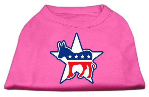 Democrat Screen Print Shirts Bright Pink Xl (16)