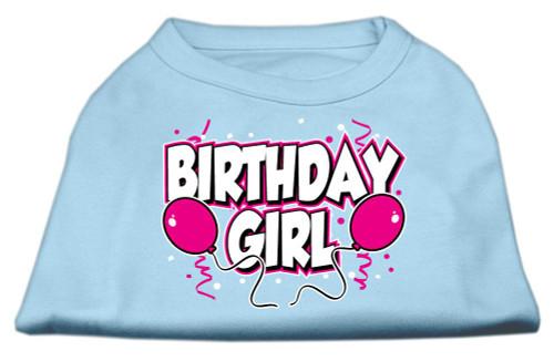 Birthday Girl Screen Print Shirts Baby Blue Lg (14) - 51-06 LGBBL