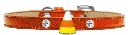 Candy Corn Charm Dog Collar Orange Ice Cream Size 8
