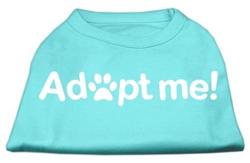 Adopt Me Screen Print Shirt Aqua Lg (14)