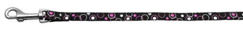 Retro Nylon Ribbon Collar Black 3/8 Wide 6ft Lsh - 125-003 3806BK