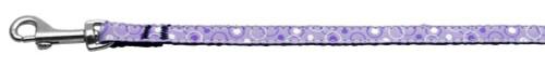 Retro Nylon Ribbon Collar Lavender 3/8 Wide 6ft Lsh - 125-003 3806PR