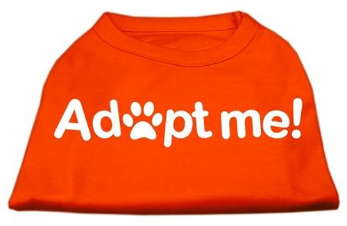 Adopt Me Screen Print Shirt Orange Lg (14)