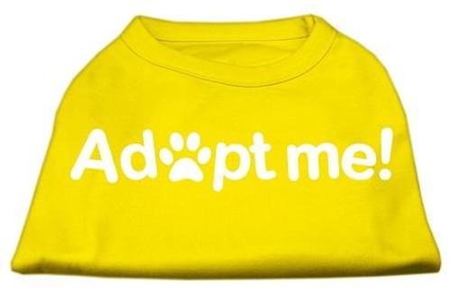 Adopt Me Screen Print Shirt Yellow Lg (14)