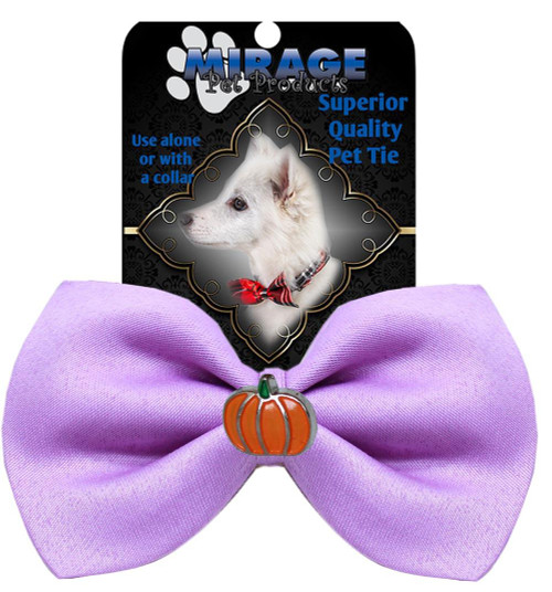 Pumpkin Widget Pet Bowtie Lavender