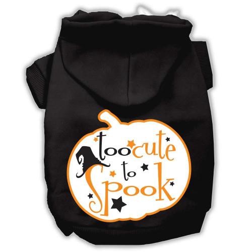 Too Cute To Spook Screenprint Hoodie Black S (10)