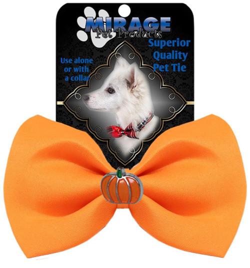 Pumpkin Widget Pet Bowtie Orange