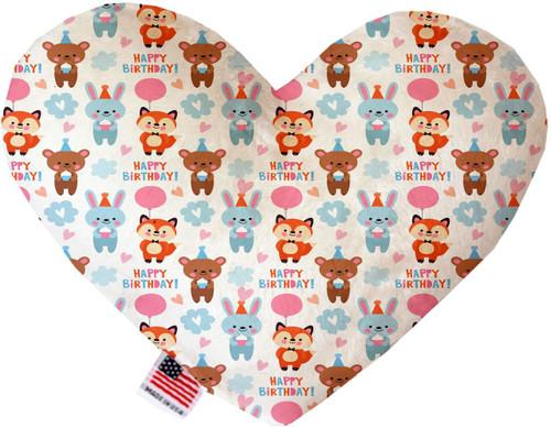 Birthday Buddies 6 Inch Heart Dog Toy