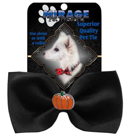 Pumpkin Widget Pet Bowtie Black