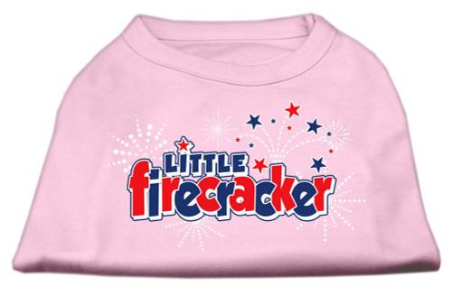 Little Firecracker Screen Print Shirts Light Pink Xxl (18)