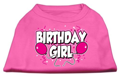 Birthday Girl Screen Print Shirts Bright Pink Lg (14) - 51-06 LGBPK