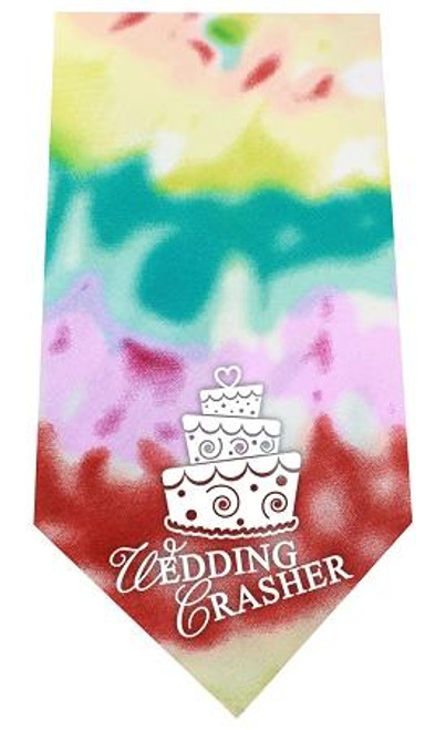Wedding Crasher Screen Print Bandana Tie Dye
