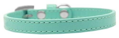 Omaha Plain Puppy Collar Aqua Size 8