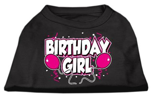 Birthday Girl Screen Print Shirts Black  Xl (16) - 51-06 XLBK