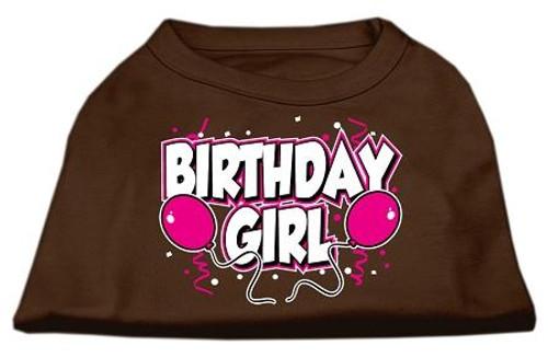Birthday Girl Screen Print Shirts Brown Xl (16)